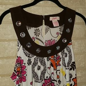 Candies midi dtess size large